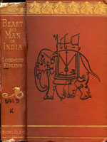NYSL Decorative Cover: Beast and man in India