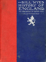 NYSL Decorative Cover: Bill Nye's history of England