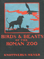NYSL Decorative Cover: Birds and beasts of the Roman zoo