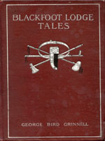NYSL Decorative Cover: Blackfoot lodge tales