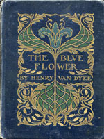 NYSL Decorative Cover: Blue Flower
