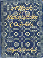 NYSL Decorative Cover: Book Of Hand-Woven Coverlets