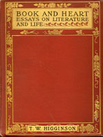 NYSL Decorative Cover: Book and heart, essays on literature and life.