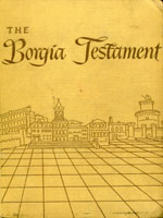 NYSL Decorative Cover: Borgia Testament.