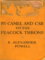 NYSL Decorative Cover: Camel and car to the peacock throne