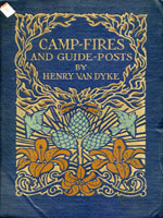 NYSL Decorative Cover: Camp-fires and guide-posts