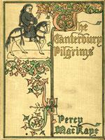 NYSL Decorative Cover: Canterbury Pilgrims