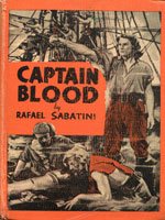 NYSL Decorative Cover: Captain Blood, his Odyssey.