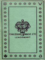 NYSL Decorative Cover: Chaldean magic