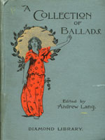 NYSL Decorative Cover: Collection Of Ballads