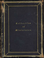 NYSL Decorative Cover: Collection of miniatures.
