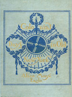 NYSL Decorative Cover: Colonial days in old New York