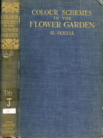 NYSL Decorative Cover: Colour in the flower garden