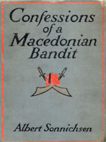 NYSL Decorative Cover: Confessions of a Macedonian bandit