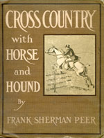 NYSL Decorative Cover: Cross country with horse and hound