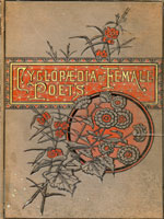 NYSL Decorative Cover: Cyclopaedia of female poets