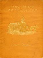 NYSL Decorative Cover: Farm stock 100 years ago