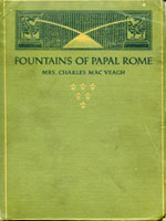 NYSL Decorative Cover: Fountains of papal Rome