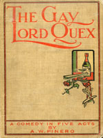 NYSL Decorative Cover: Gay Lord Quex