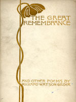 NYSL Decorative Cover: Great remembrance, and other poems