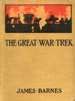 NYSL Decorative Cover: Great war trek with the British army of the veldt