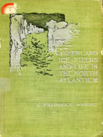 NYSL Decorative Cover: Greenland icefields and life in the North Atlantic.