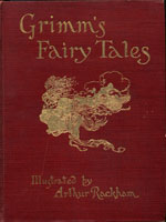 NYSL Decorative Cover: Grimms Fairy Tales