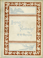 NYSL Decorative Cover: Idyls of Norway, and other poems