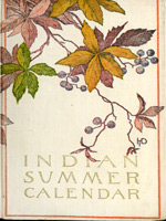 NYSL Decorative Cover: Indian summer calendar