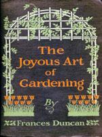 NYSL Decorative Cover: Joyous art of gardening