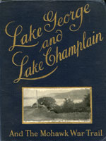 NYSL Decorative Cover: Lake George and Lake Champlain