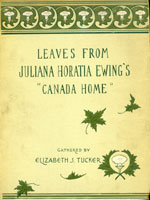 NYSL Decorative Cover: Leaves from Juliana Horatia Ewing's