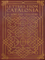 NYSL Decorative Cover: Letters from Catalonia and other parts of Spain