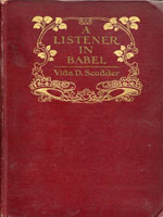 NYSL Decorative Cover: Listener in Babel