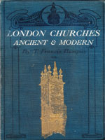 NYSL Decorative Cover: London churches, ancient & modern