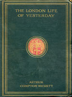 NYSL Decorative Cover: London life of yesterday