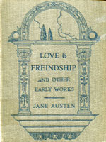 NYSL Decorative Cover: Love & freindship [sic]
