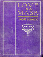 NYSL Decorative Cover: Love in a mask,
