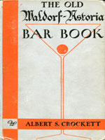 NYSL Decorative Cover: Old Waldorf-Astoria bar book