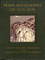 NYSL Decorative Cover: Peaks and glaciers of Nun Kun