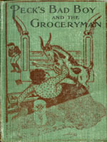 NYSL Decorative Cover: Peck's bad boy and the groceryman