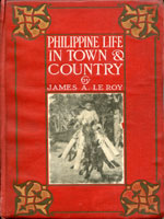 NYSL Decorative Cover: Philippine life in town and country.