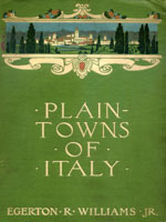 NYSL Decorative Cover: Plain-towns of Italy