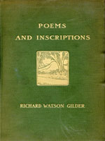 NYSL Decorative Cover: Poems and inscriptions