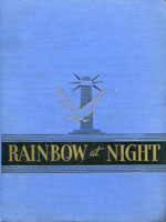 NYSL Decorative Cover: Rainbow at night