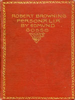 NYSL Decorative Cover: Robert Browning  personalia.