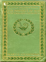 NYSL Decorative Cover: Romance of old New England churches