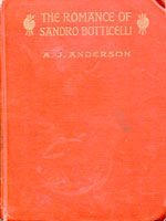 NYSL Decorative Cover: Romance of Sandro Botticelli woven with his paintings