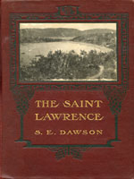 NYSL Decorative Cover: Saint Lawrence, its basin & border-lands