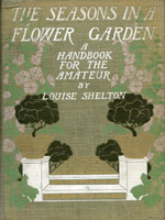 NYSL Decorative Cover: Seasons in a flower garden